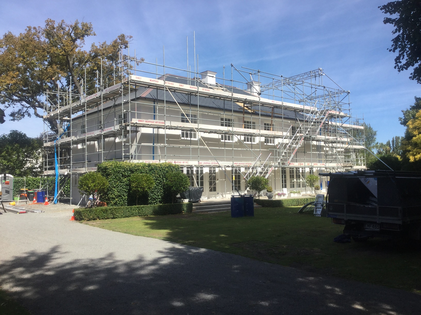 Scaffolding Canterbury, Scaffolding Christchurch and Canterbury, Erect Scaffolding LTD